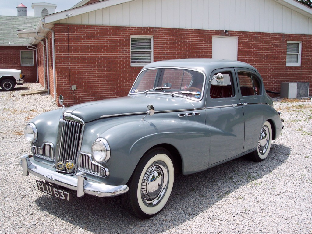 Allen & Alice Lee - 1955 Sunbeam