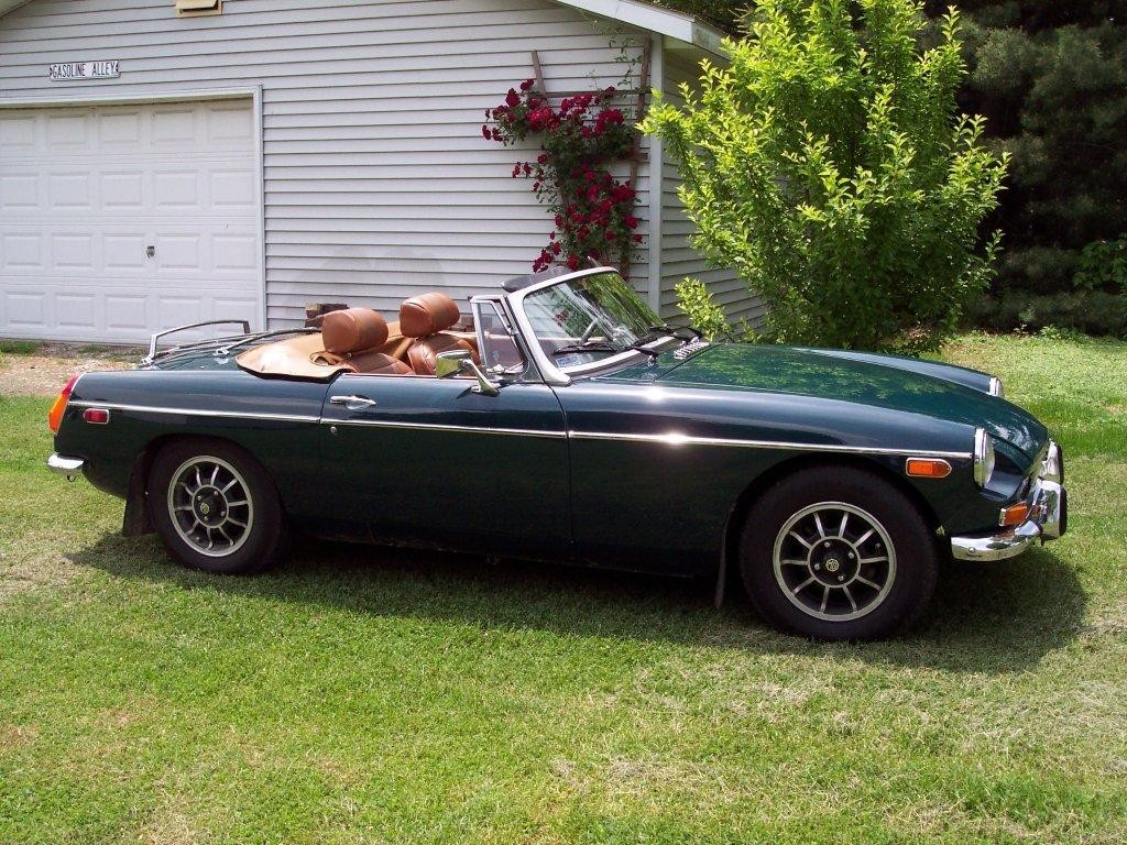 Allen & Alice Lee - 1973 MGB